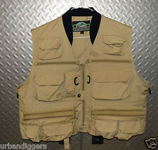 028/  NEW Photographer VEST ~ Fly Fishing ~ Size L Large ~ Many Pockets ~ Nice