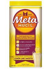 Metamucil Smooth Lemon Lime 114 Doses 673g