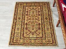115x83 cm handgeknüpfte Afghan orientteppich nomad rug Carpet ziegler Teppich 49