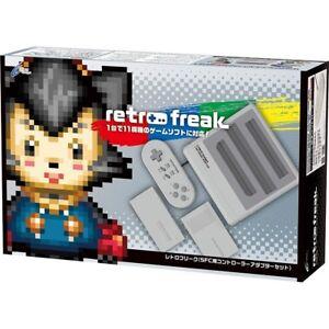 CYBER Gadget Retro Freak SFC Controller Adapter Set CY-RF-SFC Super Gray Japan