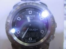 TISSOT T-TOUCH MEN'S WATCH CHRONO SAPPHIRE ALL S/S T33158851 NEW
