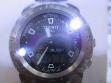 Tissot T-touch II Titanium Case Black Dial Mens Watch - T0474204720701
