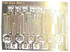 Selection of Speed Restriction Signs 4mm Scale