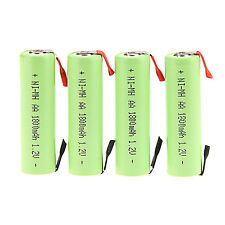 General 4PC 1.2V AA 1800mAh Ni-MH Rechargeable battery for Electric Shaver razor