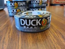 Duck Max Strength 240201 Duct Tape 1 Pack 188 Inch X 45 Yard Silver