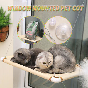 Window Mounted Pet Cat Durable Seat Hammock Perch Bed Sunshine Cushion