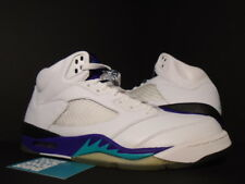 2006 Nike Air Jordan V 5 Retro LS WHITE EMERALD GRAPE ICE PURPLE 314259-131 11.5