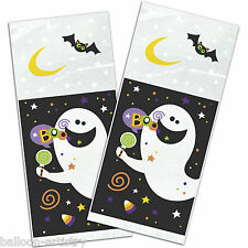 20 Happy Halloween Candy SPOOK Treat Gift Loot Plastic Cellophane Party Bags