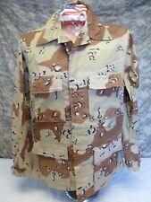 6 Color Desert Camo DCU Chocolate Chip BDU Shirt Large Regular 50/50 New NWOT