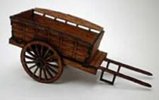 HORSE DRAWN FARM CART 95734 LASER CUT KIT FOR OO MODEL RAILWAYS SUIT HORNBY ETC