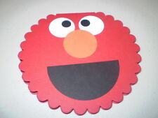 Stampin Up Card Kit Elmo Sesame Street Scallop Card- 5 Cards/Envies