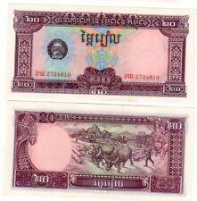 CAMBODGE CAMBODIA Billet 20 RIELS 1979 P28 NEUF UNC