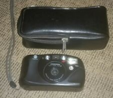 Minolta Freedom Action Zoom Camera 35mm 35-60 Film AF QD With Case & Strap RARE