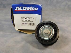 12581701 NEW OEM GM ACDELCO IDLER PULLEY BUICK CHEVROLET PONTIAC SATURN
