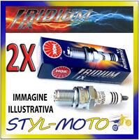 KIT 2 CANDELE NGK IRIDIUM SPARK PLUG DCPR8EIX DUCATI Monster 620 i.e. 620 2004