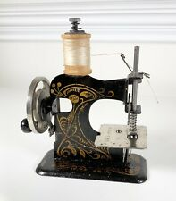 "Vintage ""Little Beauty"" German Hand Crank Small Sewing Machine-Tested & Works"