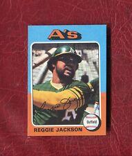 1975 TOPPS #300 REGGIE JACKSON (HOF) OAKLAND A'S SET BREAK NMMT / NMMT+