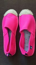 Joules neon pink  fliperdrille shoes size 6