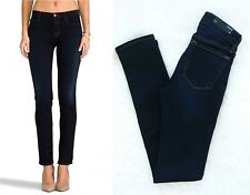 J BRAND Mid-Rise Rail NWT Skinny Made in USA Women's Jeans Sz 23 / AU 6 RRP $235