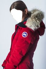 "2018 LATEST ARRIVAL CONCEPT EDITION CANADA GOOSE RED SHELBURNE ""XS"" PARKA JACKET"
