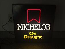 Vintage Light Up Bar Sign Advertising Michelob Beer