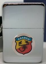 ABARTH SCORPION 500   FLIP METAL PETROL LIGHTER