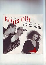 disque 45 tours - baisers volés -- titres : j'ai un secret