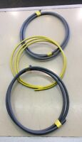 25mm Brown and Blue Insulated Meter Tails Set & 16mm Earth 6181Y