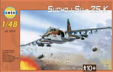 SUKHOI Su-25 FROGFOOT A(UKRAINIAN, SOVIET, IRAQI, CZECH & SLOVAK MKGS) 1/48 SMER