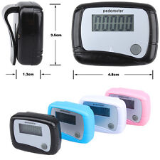 Best Useful Lcd Pedometer Step Walking Distance Calorie Counter Jogging Running