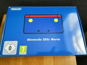 Blue Red Nintendo 3DS Chotto Mario Club Nintendo Console Limited special