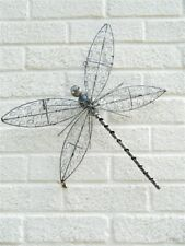 Metal Wall Art DragonFly Dragonflies - Silver Wire Assorted Sizes