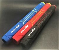 Karma Big Softy Oversize/Jumbo Low Taper Golf Putter Grip, BLACK, RED OR BLUE