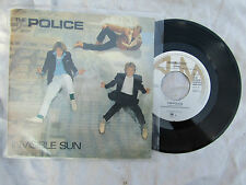 POLICE INVISIBLE SUN / FLEXIBLE SCRATCHES Dutch pressing N/M....... 45rpm / rock