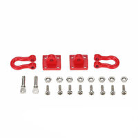 RC Rock Crawler 1:10 Accessory Tow Hook for Axial SCX10 RC Truck Trailer Hook、AU