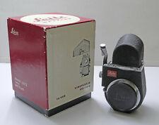 Leica Visoflex III mit Lupe und Mattscheibe + Mikroprismen-Scharfeinstellung!