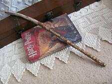 Handmade Magic Wand Spell Wizard Harry Potter Wicca Fairy Driftwood OOAK #18