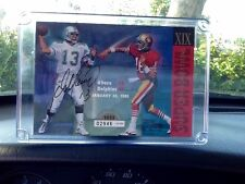SUPER BOWL XIX CLASSIC CONFRONTATION'S & LIMITED EDITION 49ERS VS DOLPHINS CARD!