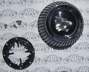 "1966-1970 Buick Wildcat Chrome Wheel Cap Assembly w/ 2"" Cap Retainer"