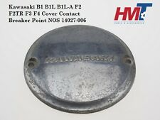 Kawasaki B1 B1L B1L-A F2 F2TR F3 F4 Cover Contact Breaker Point NOS 14027-006