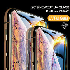 Liquid Screen Protector For iPhone 6 7 8 X XS XR Full UV Glue Tempered Glass