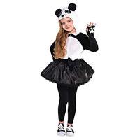 Amscan Girls Panda Costume - Toddler (3-4)