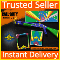 Call of Duty COD: Mobile / Weapon, Calling Card, Avatar, Spray. Frame Bundle DLC