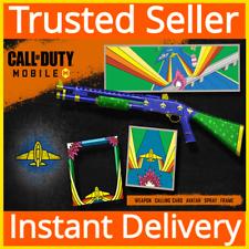 """Call of Duty """"код: мобильный/оружие, визитная карточка, Аватар, спрей. рама комплект Dlc"""