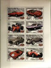 ANTIGUA BARBUDA 2007 Klb 4499-06 60th Ann Ferrari SpA Race Cars Rennautos Autos
