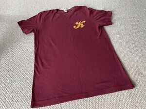 Secret Cinema Dirty Dancing Burgundy Kellerman's Mountain House T-Shirt (M)
