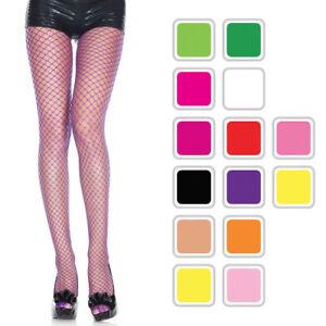 Goth Punk Small Diamond Net Fishnet Full Pantyhose Simple Stocking Pinup Girl OS
