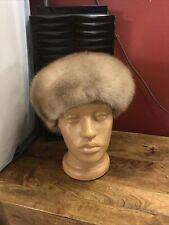 Mink Hat/Beret light  Brown