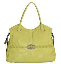 Guess Wilcox Carryall Bag Lemon Handbag, VG393422 (S1A)