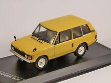 1970 Range Rover 3.5 in giallo modello in scala 1/43 da Whitebox